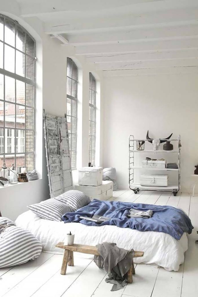 industrial style bedrooms