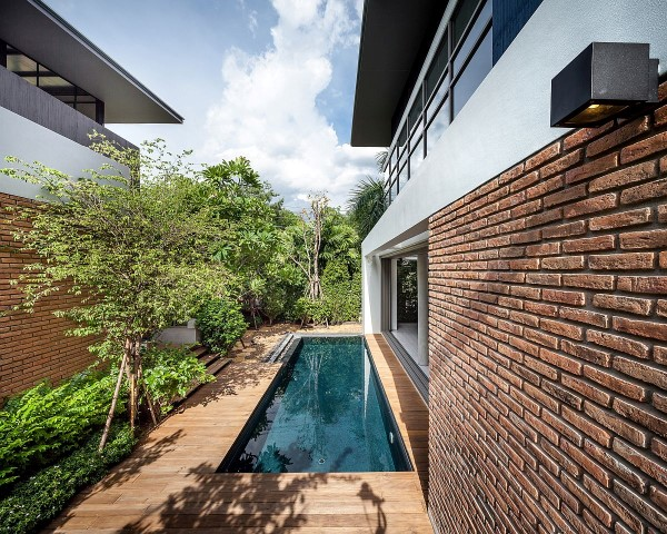 Inspiring houses located in Bangkok_pool
