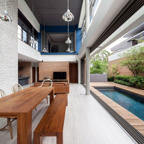 Inspiring houses located in Bangkok_dining room