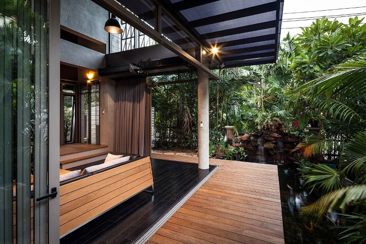Inspiring houses located in Bangkok_outside