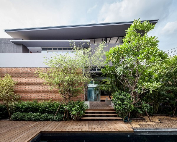 Inspiring houses located in Bangkok_house from outside