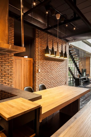 Inspiring houses located in Bangkok_kitchen