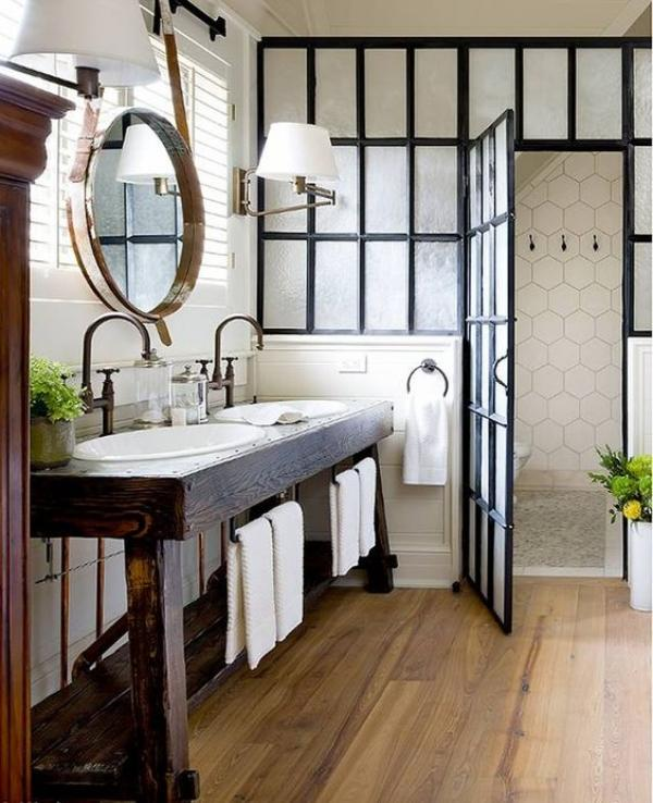 Incroyable Industrial Bathroom Vanity Ideas