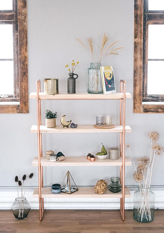 rose gold home decor accessories