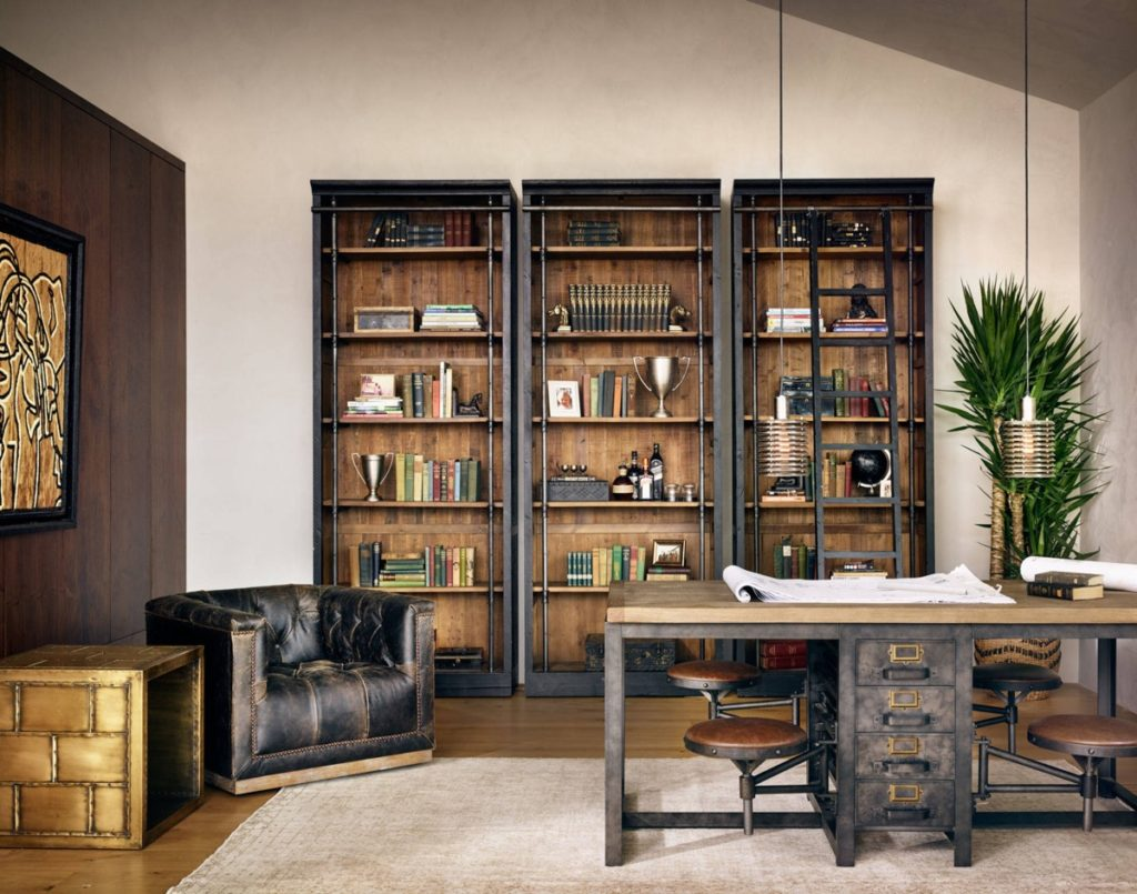 20 1 Industrial Style Home Office Inspiration To Get A