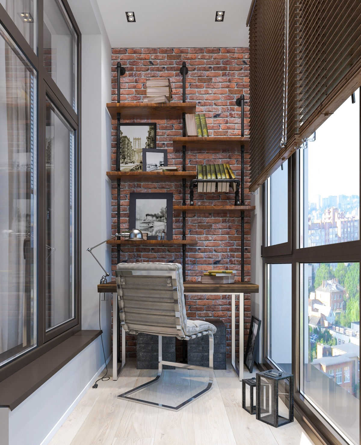20+1 Industrial Style Home Office Inspiration To Get A