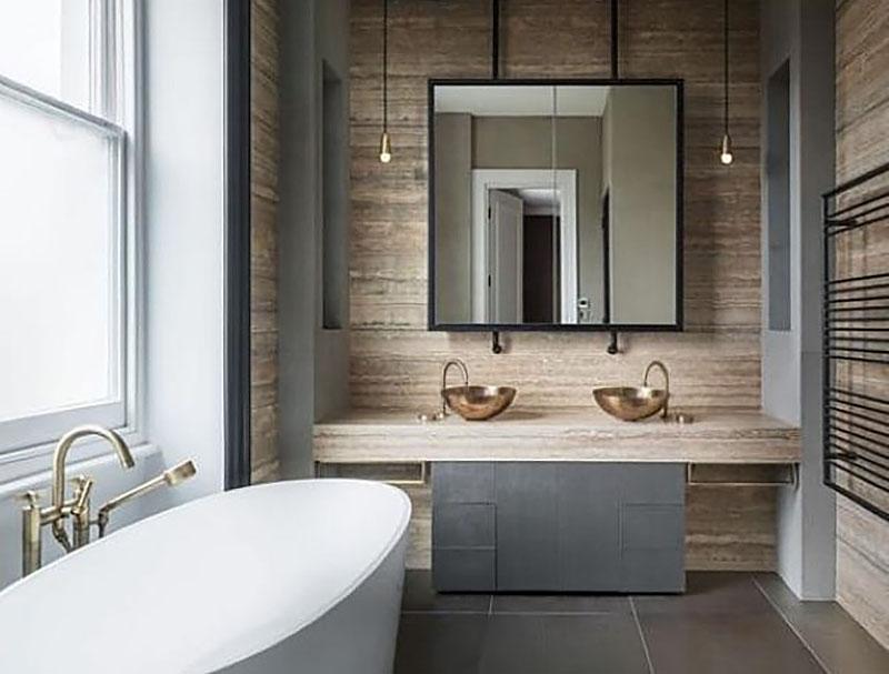 15 awesome industrial bathroom vanity ideas loftspiration - Industrial Bathroom
