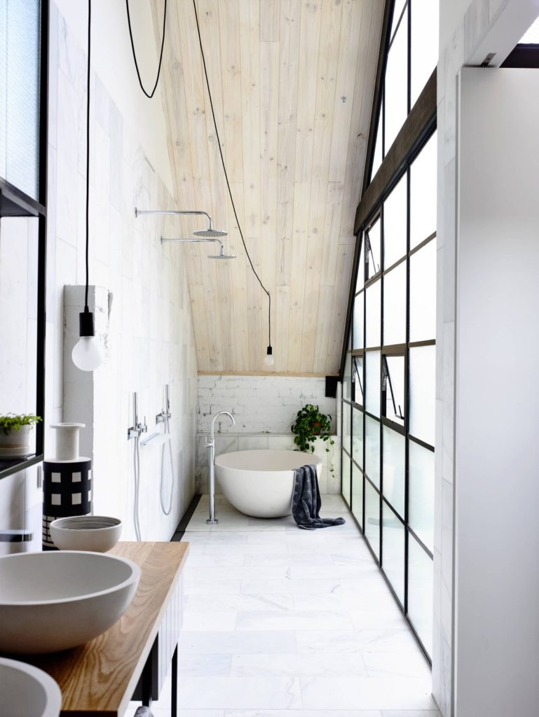 26 awesome industrial style bathroom ideas for you | Loftspiration