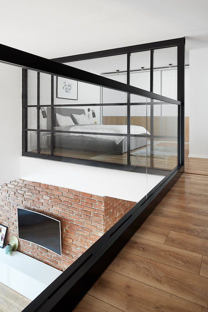how to design your small loft