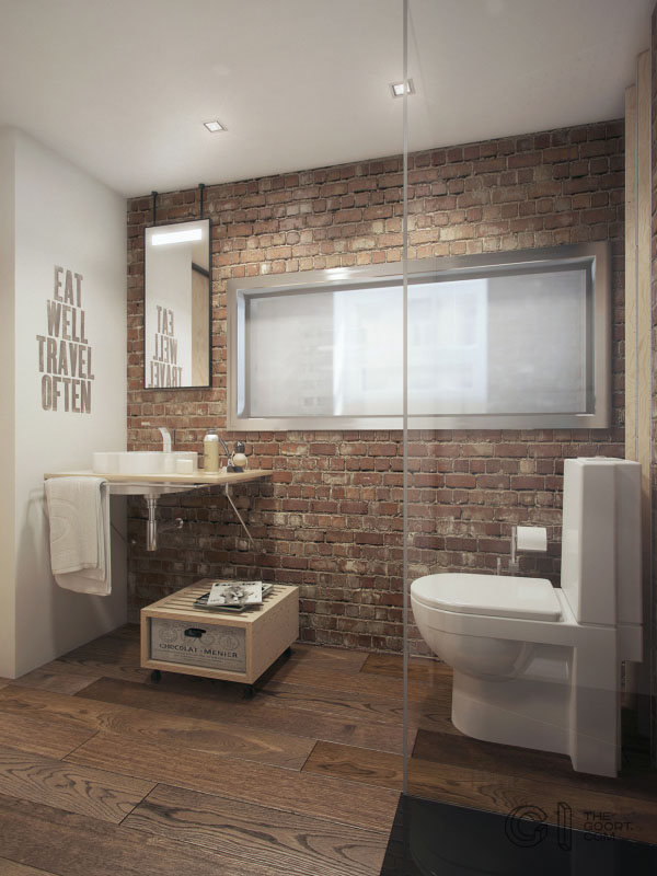 Extra mini loft apartment visualization to get inspired ...