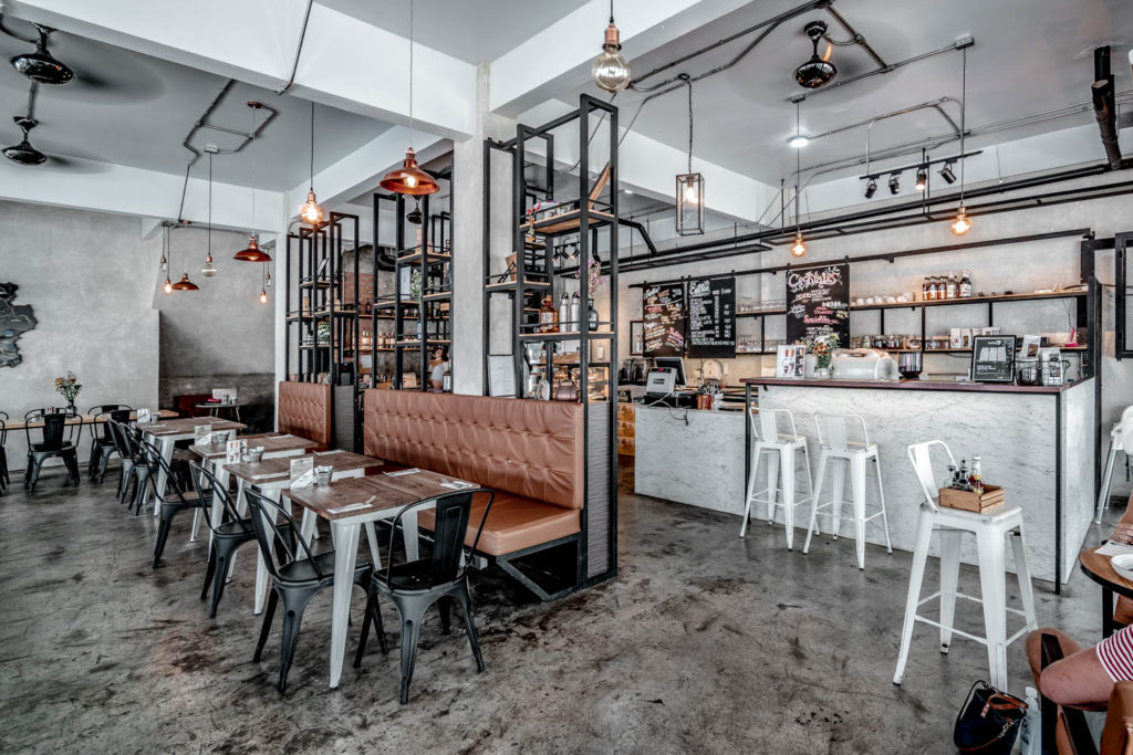 Our new favorite: A lovely industrial style cafe in Thailand ...